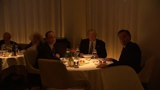 Download What Donald Trump and Mitt Romney Ate During Their Gourmet Dinner Together Video