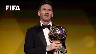 Download LIONEL MESSI REACTION: FIFA Ballon d'Or winner [FULL] Video