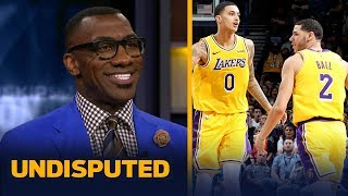 Download Shannon Sharpe sees major growth in Lakers' young players after win vs Thunder | NBA | UNDISPUTED Video