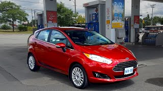Download 2017 Ford Fiesta Review - Fuel Economy Test + Fill Up Costs Video