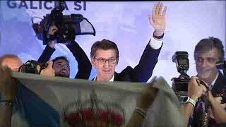 Download Alberto Núñez Feijóo revalida la presidencia de la Xunta con mayoría absoluta Video