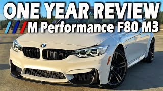 Download BMW F80 M3 | HERO OR HAS-BEEN? | 1 YEAR OWNER REVIEW Video