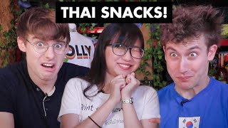 Download Trying Thailand's quirkiest snacks! (feat. Silkworms and ACID?!) Video