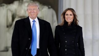 Download Trump attends welcome celebration at the Lincoln Memorial Video