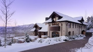 Download Breathtaking Ski-In Ski-Out Estate in Aspen, Colorado Video