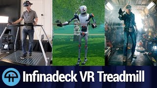 Download Infinadeck - 'Ready Player One' VR Treadmill Video