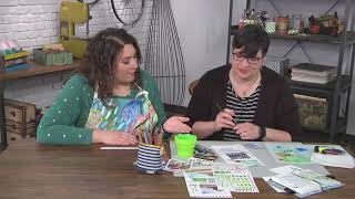 Download Sketchbook Lesson Three – The Color of Seasons on Make It Artsy with Tori Weyers (704-3) Video