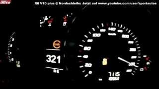 Download 2013 Audi R8 V10 plus 0-338 km/h Top Speed Launch Control Test sport auto Video