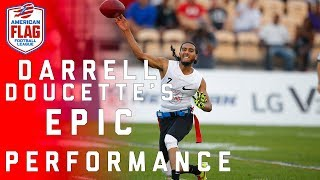 Download Mike Vick 2.0? Darrell Doucette's Epic Flag Football Performance! | NFL Video