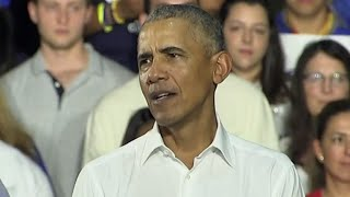 Download Obama campaigns for Democrats in Florida Video