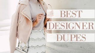 Download DESIGNER DUPES SUMMER 2017! | Gucci, Chloe, Self Portrait & More! | Fashion Mumblr Video