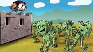 Download DAME TU COSITA TAKES OVER MINECRAFT! (Minecraft Dancing Alien) Video