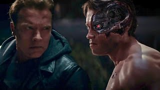 Download Terminator Genisys | Old vs Young Arnold Fight | Arnold Schwarzenegger : I've Been Waiting For You Video