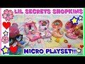 LIL SECRET Shopkins. L'UNBOXING più PICCOLO DEL MONDO! by Lara e Babou