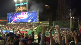 Download Fans erupt as Indians walk-off to win 22nd in a row Video