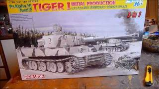 Download Dragon Tiger I Initial Production in 1/35 scale Part I Video