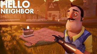 Download Having A PICNIC With THE NEIGHBOR!!! | Hello Neighbor (Beta 3) Video