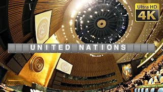 Download Inside United Nations UN Headquarter (4K) in New York Video