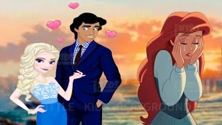 Download Eric Leaving Ariel for Elsa - Disney Princess Elsa and Ariel Love Rivals Dress Up Game Video