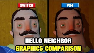 Download Hello Neighbor Graphics Comparison - Switch vs PS4 Video