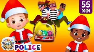 Download ChuChu TV Police - Saving The Christmas Surprise Eggs Gifts + More ChuChu TV Police Episodes Video