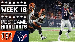Download Bengals vs. Texans | NFL Week 16 Game Highlights Video