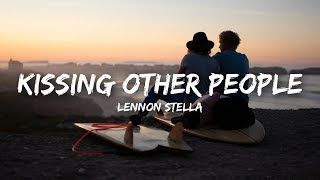 Download Lennon Stella - Kissing Other People (Lyrics) Video