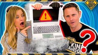 Download Will Liquid Nitrogen Damage A Laptop? Video