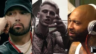 Download Eminem Responds To Machine Gun Kelly & Joe Budden, Reveals He Has More Unreleased Diss Tracks Video