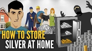 Download How To Store Silver Bars & Coins At Home - Mike Maloney Video