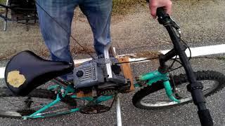 Download Chainsaw bike Video