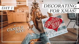 Download Decorate With Me | Cute Holiday Decor On A Budget! | Vlogmas Day 1 Video
