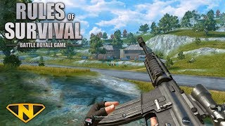 Download My First FPP Win! (Rules of Survival: Battle Royale #108) Video