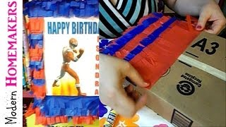 Download How To Make A Pinata With Cardboard Video
