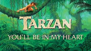 Download Tarzan - Phil Collins - You'll Be In My Heart Video