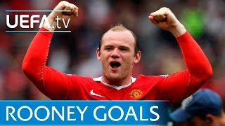 Download Wayne Rooney - 10 great European goals - Manchester United Video