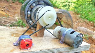 Download How to make 100% free energy generator without battery with the help of bearings | home invention. Video