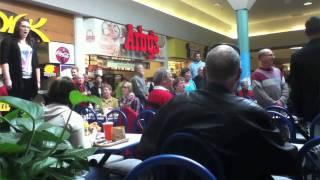 Download Christmas Food Court Flash Mob, Hallelujah Chorus - Must See! Video