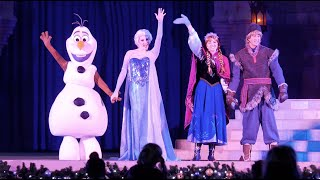 Download Frozen Holiday Wish HD - Disney World (Christmas Show) Video