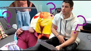 Download Nick Jonas plays Guess The Bulge featuring Harry Styles, Justin Bieber, Zac Efron and more Video