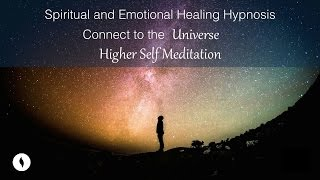 Download Spiritual and Emotional Healing Hypnosis, Connect to the Universe, Receive Higher Self Meditation Video