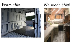 Download Make a Van a Home! Video