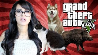 Download GTA 5 PS4 Fun - Playing As Animals! Video