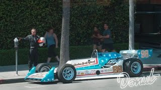 Download We parked a race car at an expired meter prank | Donut Media Video