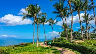 Download Wailea Beach Path, Maui, Hawaii, DJI Osmo 4K Video