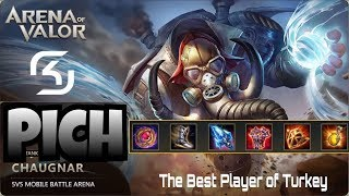 Download TOP 50 PLAYERS EASY WIN | Arena of Valor - Pich Chaugnar Gameplay Video