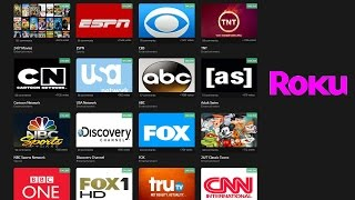 Download Free Live Cable TV on Roku Video