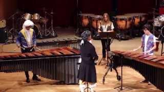 Download Thunderstruck for Percussion Ensemble Alumnado PercuFest 2014 dirigido por Rafa Navarro Video