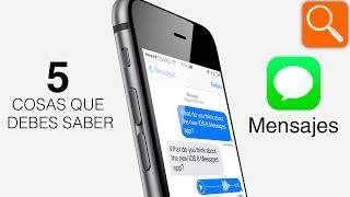 Download 5 cosas que debes saber de Mensajes para iPhone Video
