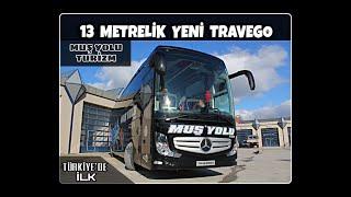 Download 13 Metrelik 2+1 Fabrika Çıkışlı İlk Travego 16 Tanıtımı - Muş Yolu Turizm Video